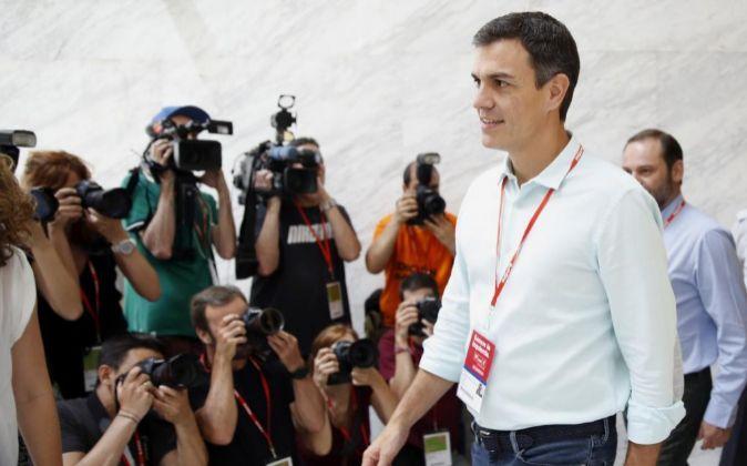 El líder del PSOE Pedro Sánchez.