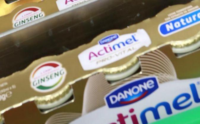 Imagen de uno de los productos de Danone