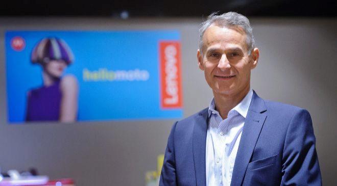 Francois Bornibus, presidente de Lenovo Emea.