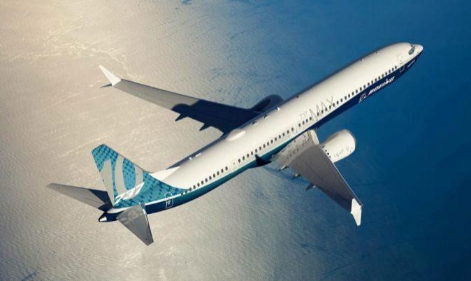 Imagen facilitada por el grupo estadounidense Boeing de su nueva...