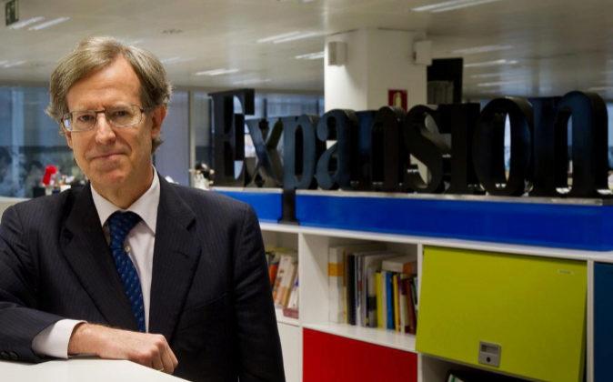 Antonio Hernández-Gil, en una visita a la redacción de EXPANSIÓN en...