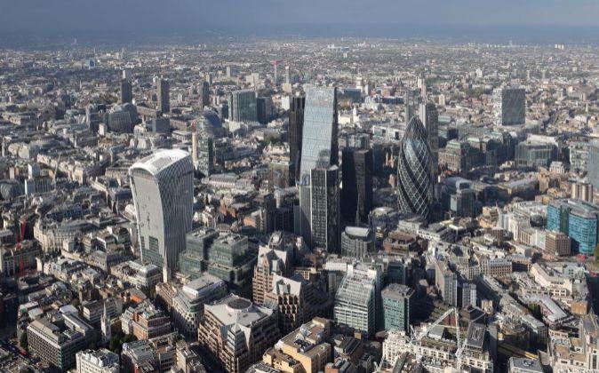 Vista aérea de la City.