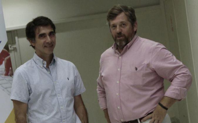Jaime Conde y Pedro Díez, directivos de la firma Ieducando.