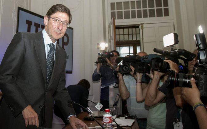 El presidente de Bankia, José Ignacio Goirigolzarri, en las jornadas...
