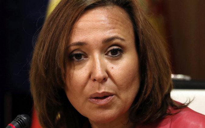 La Consejera de Educación, Cultura y Deporte del Gobierno de Aragón,...