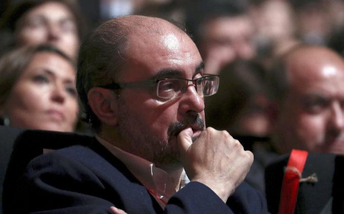Javier Lambán, presidente de Aragón.