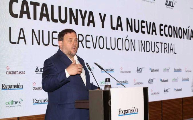El vicepresident de la Generalitat, Oriol Junqueras.