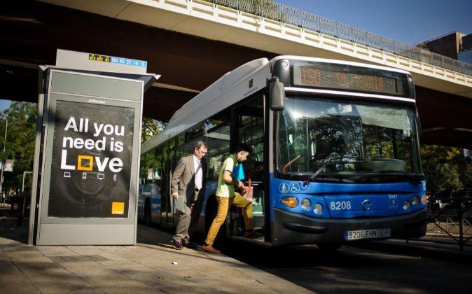 Autobus EMT.