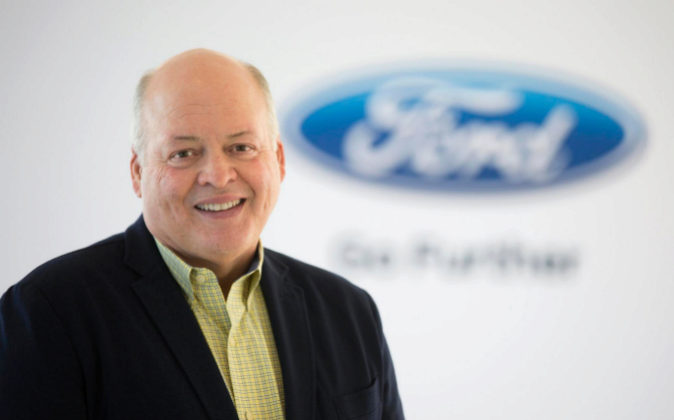 Jim Hackett, CEO de Ford.