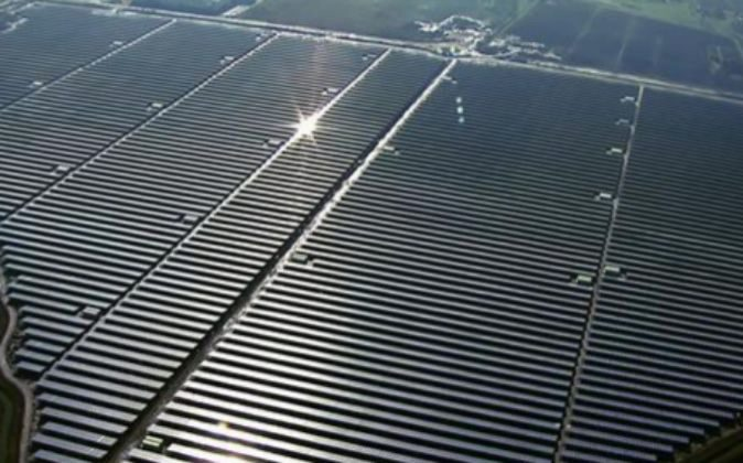 Central fotovoltaica.