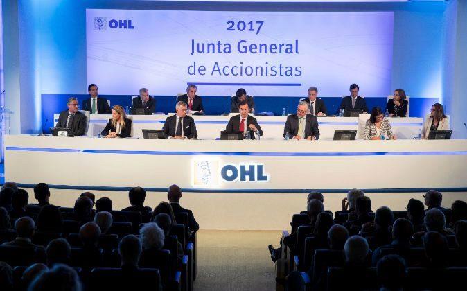 Junta de accionistas de OHL