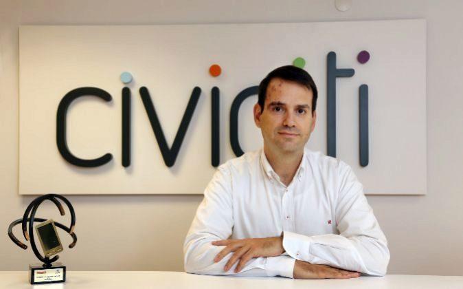 Pablo Sarrias, consejero delegado de Civiciti.