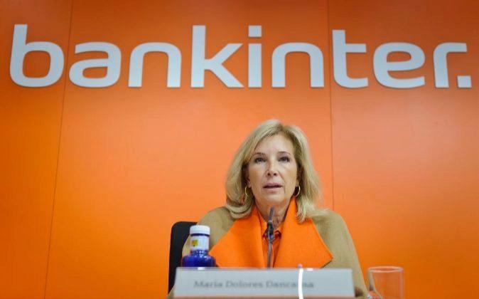 María Dolores Dancausa, primera ejecutiva de Bankinter.