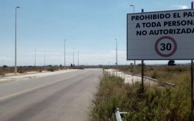 Estado del polígono Parc Sagunt.