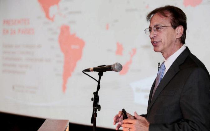 El abogado de la firma brasileña Odebrecht, el estadounidense Michael...