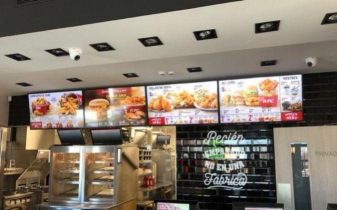 Establecimiento de Kentucky Fried Chicken en Tarragona