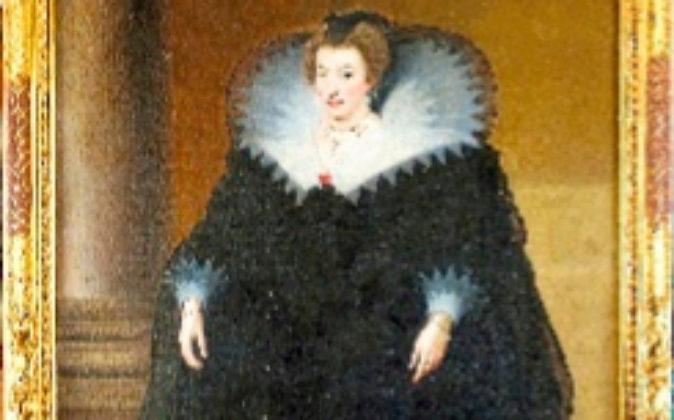 'Retrato de María de Médici, Reina de Francia', un óleo...