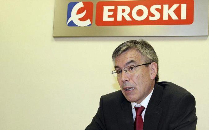 Agustín Markaide, presidente de Grupo Eroski.