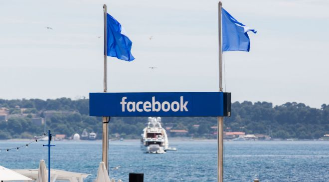 Local de Facebook en Cannes.