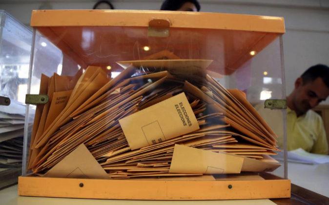 Unas urnas en las elecciones generales del pasado 26 de junio en...