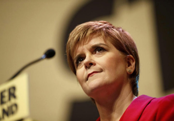 La primera ministra escocesa, Nicola Sturgeon, en una imagen reciente.