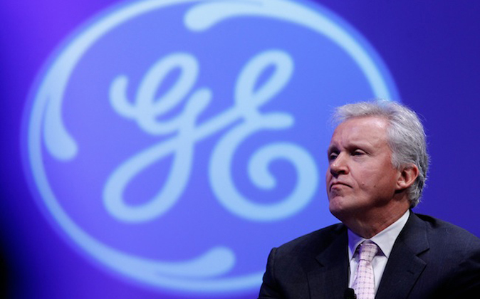 Jeff Immelt, consejero delegado de General Electric aconseja a los...