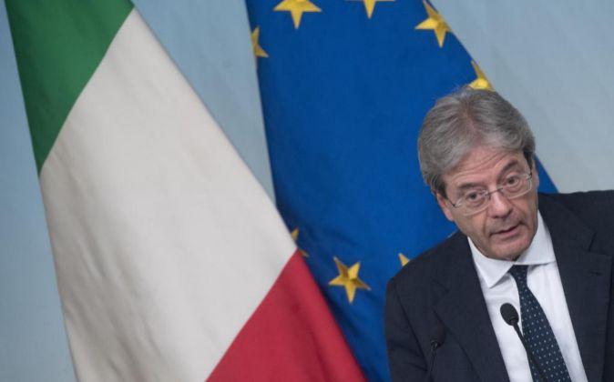El primer ministro italiano Paolo Gentiloni.