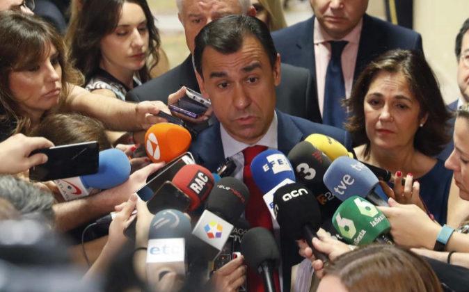 El diputado del PP Fernando Martínez Maíllo, contesta el pasado...