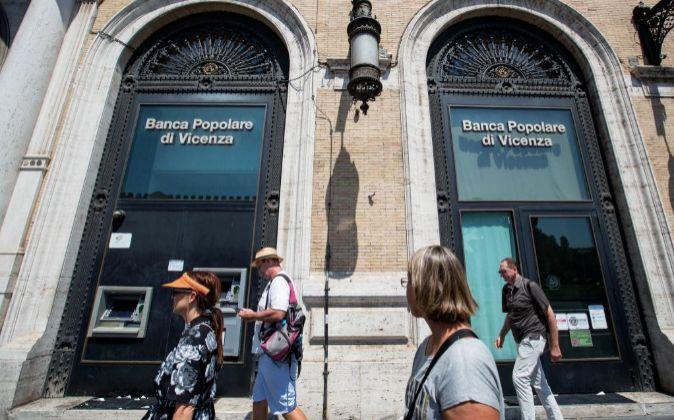 Sucursal del Banca Popolare di Vicenza.