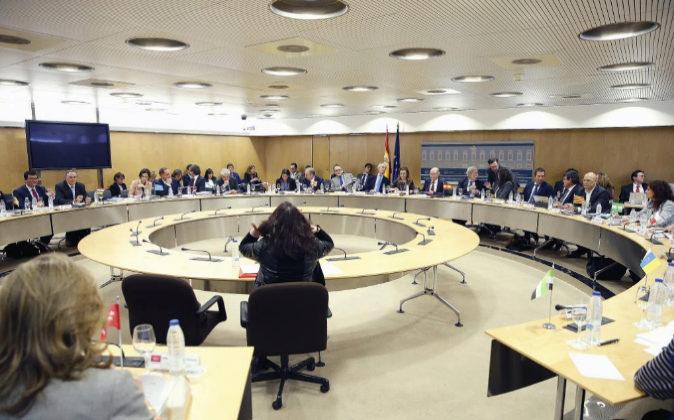Reunión del último Consejo de Política Fiscal y Financiera el...
