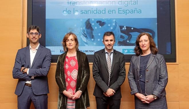 De izquierda a derecha, Ricardo Castrillo, director de la Unidad de...