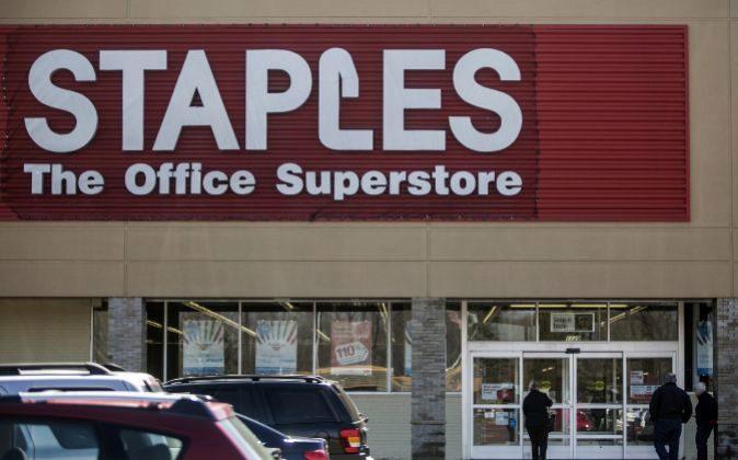 Tienda de Staples.