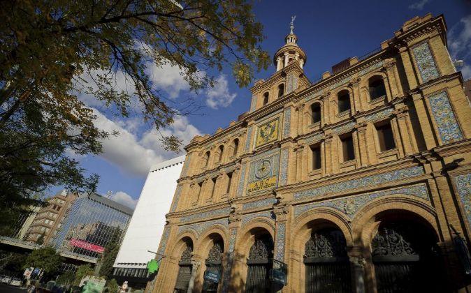 ABC Serrano, centro comercial ubicado en la madrileña Calle de...