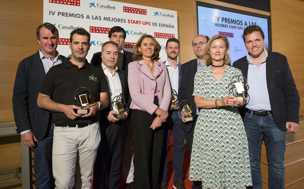 Borja Moreno, director de Ventas de 4iQ; Pedro Castillo, CEO de...