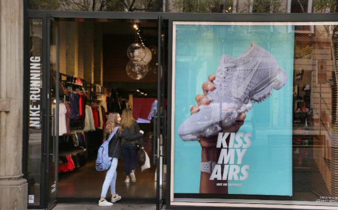 Tienda de Nike en Barcelona.
