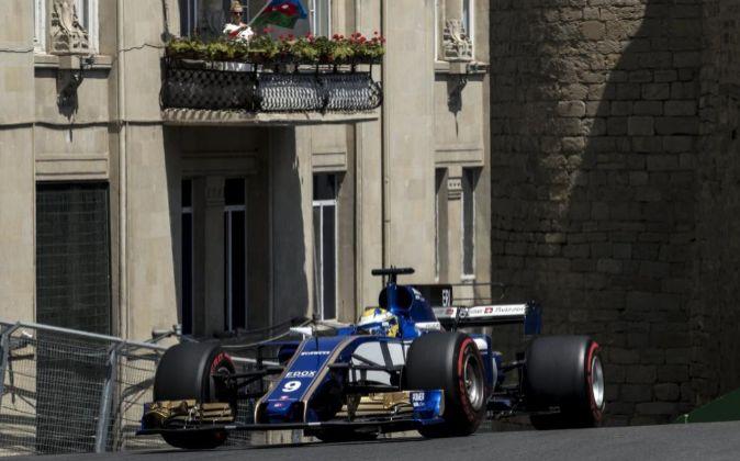 Marcus Ericsson, piloto de Sauber.