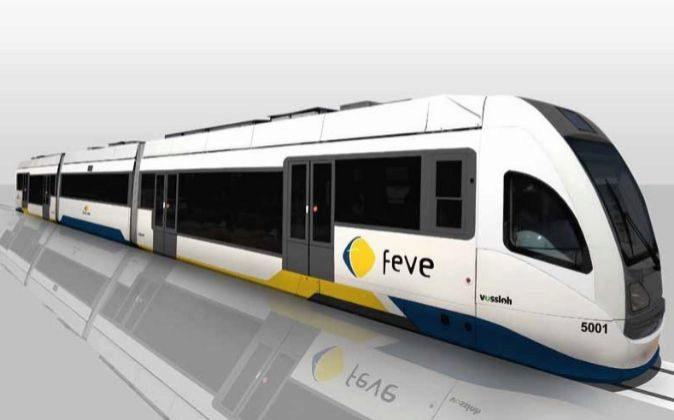 Modelo diseñado por la factoría valenciana para Feve.