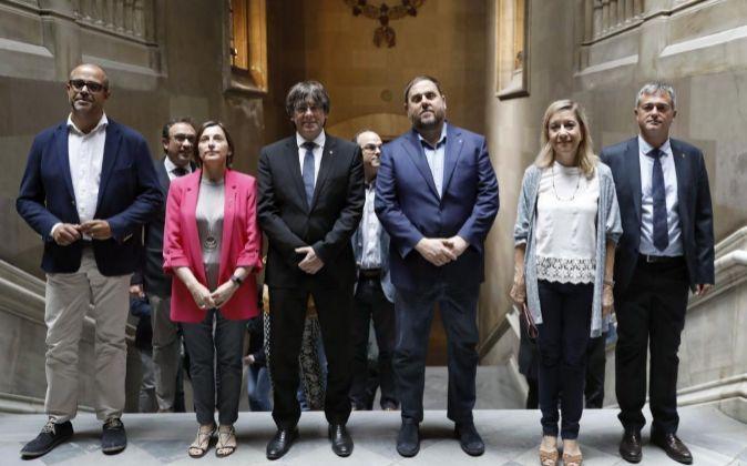 (i a d) Miquel Buch, presidente de la Asociación Catalana de...
