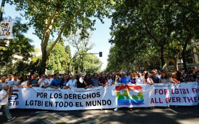 Inicio de la mayor marcha del Orgullo Gay 2017 en el mundo.