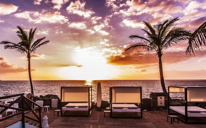 El club Las Rocas del Hotel Jardín Tropical de Tenerife ofrece...