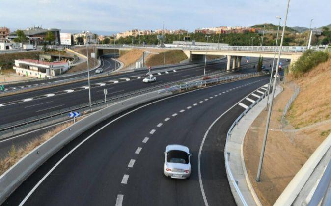 Autopista C32 entre Montgat y Blanes, en Cataluña, de Abertis.