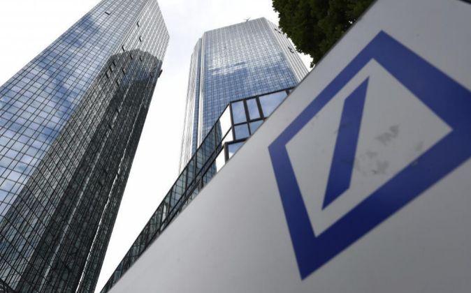 Logo del Deutsche Bank.