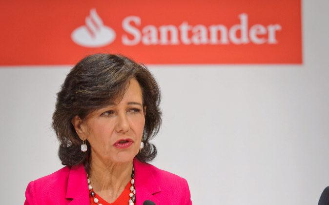 La presidenta del Grupo Santander, Ana Botín.