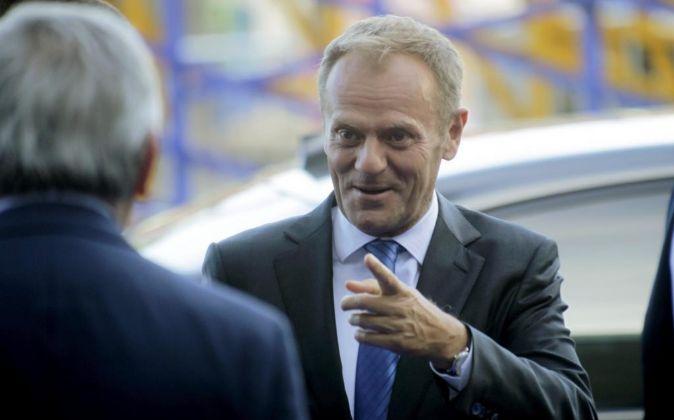 El presidente del Consejo Europeo Donald Tusk.