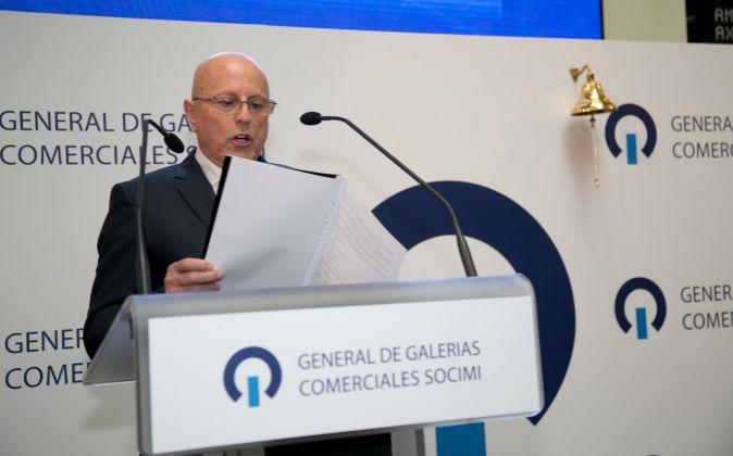 Tomás Olivo, máximo accionista de General de Galerías Comerciales...