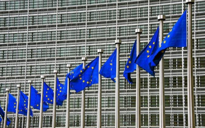Fachada del Parlamento Europeo en Bruselas.