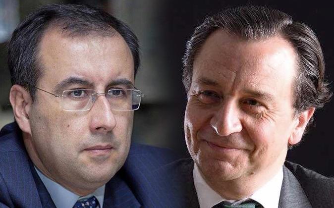 Antonio Lorenzo y Juan Colombás, los dos directivos de Lloyds...