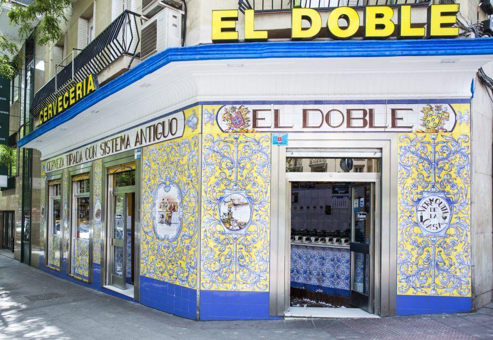 El Doble. Un mítico del barrio de Chamberí para los amantes de lo...