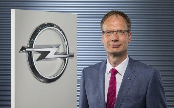 Michael Lohscheller, CEO de Opel.