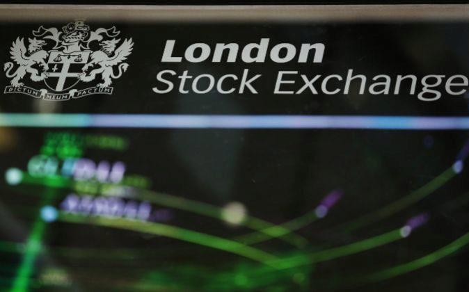 Imagen de la bolsa de Londres